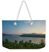 Sunrise Allegheny National Forest Weekender Tote Bag