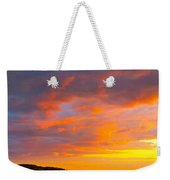 Sunrise And Clouds Over Pigeon Cove Weekender Tote Bag