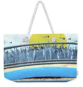 Sunrise And Flags Weekender Tote Bag