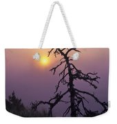 Sunrise And Fog Weekender Tote Bag