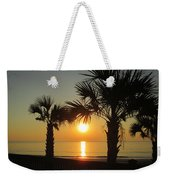 Sunrise And Palms Weekender Tote Bag