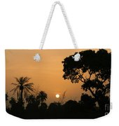 Sunrise And Silhouettes Weekender Tote Bag