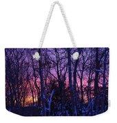 Sunrise And Snow Weekender Tote Bag