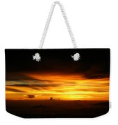 Sunrise At 38k Over El Salvador Weekender Tote Bag