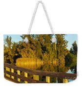 Sunrise At A Lake Weekender Tote Bag