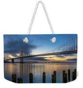 Sunrise At Bay Bridge Weekender Tote Bag