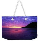 Sunrise At Bray Head, Co Wicklow Weekender Tote Bag