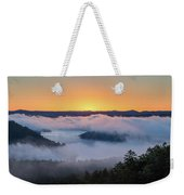 Sunrise At Broken Bow Lake Weekender Tote Bag