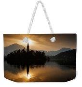 Sunrise At Lake Bled Weekender Tote Bag