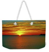 Sunrise At Matane Weekender Tote Bag