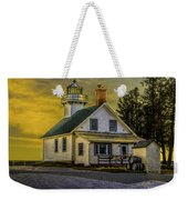 Sunrise At Mission Point Light Weekender Tote Bag