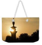 Sunrise At Mosque Of Tadjourah In Djibouti East Africa Weekender Tote Bag