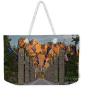 Sunrise At Mount Rushmore Promenade Weekender Tote Bag