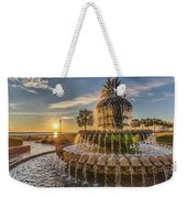 Sunrise At Pineapple Fountain Weekender Tote Bag