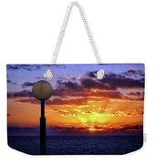 Sunrise At Sea Off The Delmarva Coast Weekender Tote Bag