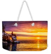 Sunrise At The Arch Weekender Tote Bag