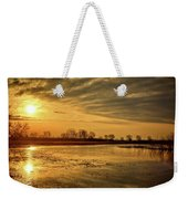 Sunrise At The Big Marsh Weekender Tote Bag