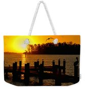 Sunrise At The Boat Launch  Weekender Tote Bag