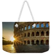 Sunrise At The Colosseum Weekender Tote Bag