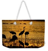 Sunrise At The Crane Pools Weekender Tote Bag