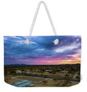 Sunrise At The Horse Barn Weekender Tote Bag