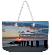 Sunrise At The Jersey Shore Weekender Tote Bag