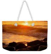 Sunrise At The Jetty Weekender Tote Bag