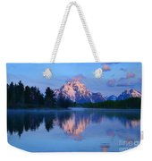 Sunrise At The Oxbow Weekender Tote Bag