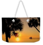 Sunrise At The Space Coast Fl Weekender Tote Bag