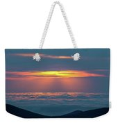 Sunrise At The Top Of The World Weekender Tote Bag