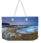 Sunrise Beneath The Storm Weekender Tote Bag by Mike  Dawson