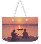 Sunrise By The Ganges Weekender Tote Bag