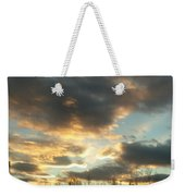 Sunrise Cloudscape Weekender Tote Bag