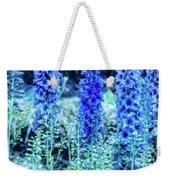 Sunrise Delphiniums Weekender Tote Bag