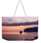 Sunrise Departure Weekender Tote Bag