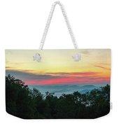 Sunrise From Maggie Valley August 16 2015 Weekender Tote Bag