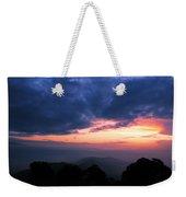 Sunrise From Tiger Hill In Darjeeling Weekender Tote Bag