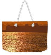 Sunrise Ft Adams Weekender Tote Bag