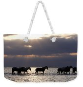 Sunrise Horses Weekender Tote Bag