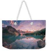 Sunrise Hour At Banff Weekender Tote Bag