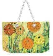 Sunrise In Bloom Weekender Tote Bag by Jennifer Lommers