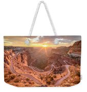 Sunrise In Canyonlands Weekender Tote Bag