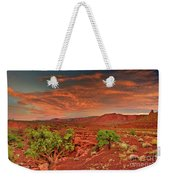 Sunrise In Capitol Reef National Park Utah Weekender Tote Bag