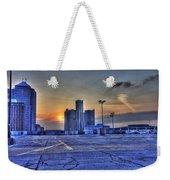 Sunrise In Detroit Mi Weekender Tote Bag by Nicholas  Grunas