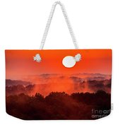Sunrise In Hocking State Forest Weekender Tote Bag