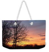 Sunrise In Illinois Weekender Tote Bag