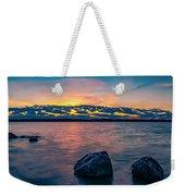 Sunrise In Motion Weekender Tote Bag