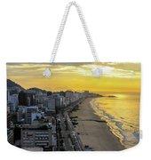 Sunrise In Rio De Janeiro Weekender Tote Bag