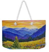 Sunrise In The Mountains Weekender Tote Bag