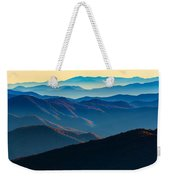 Sunrise In The Smokies Weekender Tote Bag